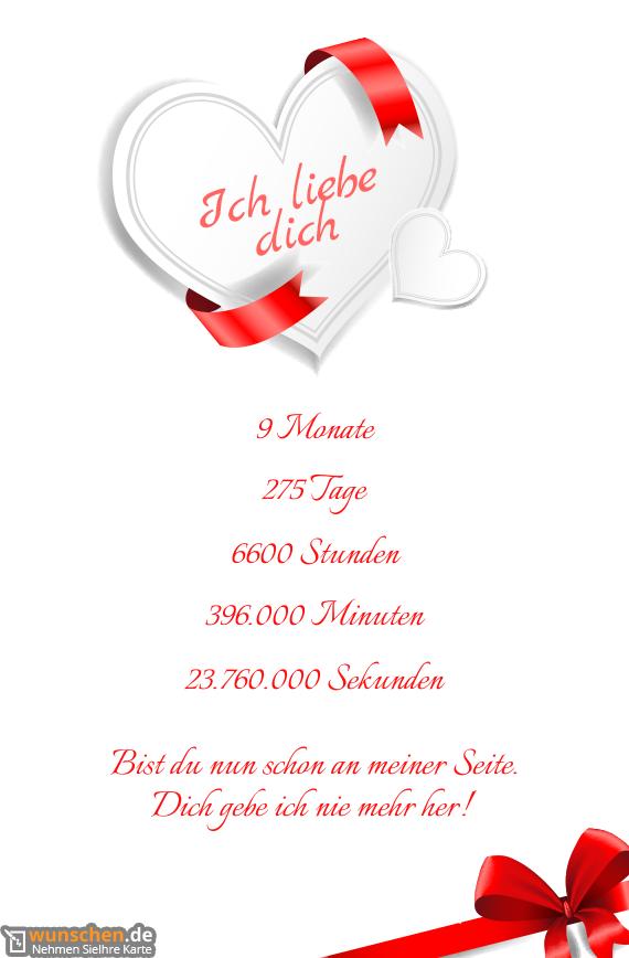 Ich Liebe Dich Mein Schatz Fertig Valentinstag Karte
